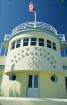 Art Deco Beach Patrol Headquarters exterior.
