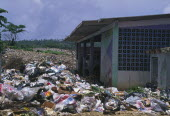 Waste collection site.