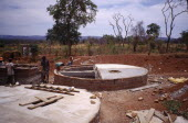 Water tanks built into the ground