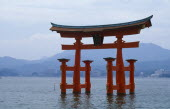 Torii of Itsukushima Shrine.