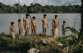 Male members of a family from Saija  another Noanama community  South of the lower rio San JuanThe Noanama are a minority group of approximately 3000 Indians. The Noanama live in an area on the Pacif...