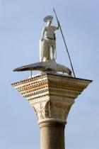 The Column of San Teodoro in the Piazzetta