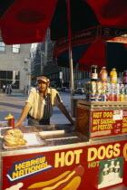 Hot Dog stall and vendor