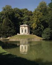 Versailles Hameau de Trianon le Moulin Lake.
