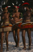 Girls dressed for traditional danceAfrica Classic Classical Guinee Historical Immature Older Pacific Islands Performance