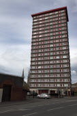 West  Falls Road  Divis Tower block of flats which had a British Army look out position on top during the Troubles.ArchitectureNorthernDivisionConflictPoliticsPoliticsHousingNorthern Beal Feirs...