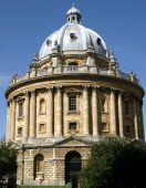 The Radcliffe Camera building.Oxford University Radcliffe Camera College architecture building famous library tourist attraction UK England Britain English British British Isles European Great Britai...
