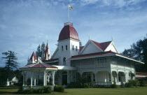 Tonga, Nuku Alofa, The Royal Palace, official residence of the Tongan Royal family.