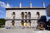 Ireland, County Dublin, Dublin City, Trinity College university Venetian Byzantine inspired Museum Building housing the Geology Department designed by Thomas Deane and Benjamin Woodward and built in 1...