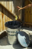 Environment, Recycling, Recycling Tins.