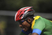 India, Delhi, 2010 Commonwealth games, Road cycling event.