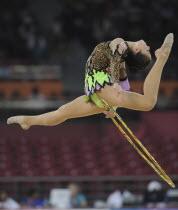 India, Delhi, 2010 Commonwealth games, Rhythmic gymnastics.