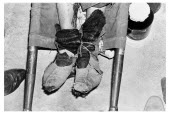 Bolivia, Santa Cruz, Vallegrande, bound feet of Ernesto Che Guervara aged 39 years before his remains were cleaned up to be put on show for the world press. Monday 09 October 1967.