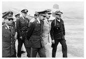 Bolivia, Santa Cruz, Vallegrande, Arrival in the early afternoon at the Vallegrande airstrip of the Bolivian high command, including General Kolle Cueto, General Ovando, the Vice President of Bolivia,...