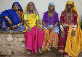 India, Karnataka, Lambani Gypsy Tribal forest dwellers, now settled in 30-home rural hamlets. Related to the Rabaris gypsies of Kutch, Gujarat.