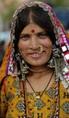 India, Karnataka, Lambani Gypsy Tribal, forest dwellers, now settled in 30-home rural hamlets. Related to the Rabaris gypsies of Kutch, Gujarat.