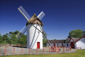 Ireland, County Roscommon, Elphin windmill.