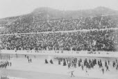 Greece, Attica, Athens, Opening ceremony of the 1896 Games of the I Olympiad in the Panathinaiko stadium, the arrival of the Royal Party.