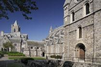 Ireland, County Dublin, Dublin City, Christchurch Cathedral.