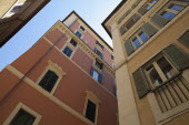 Italy, Lazio, Rome, City flats and apartments in the central district.