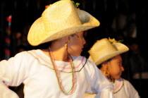 Mexico, Bajio, San Miguel de Allende, Ballet Folklorico performance on Independence Day in El Jardin.