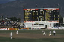 West Indies, Jamaica, Kingston, Windies v Australia test series at Sabina Park cricket ground.