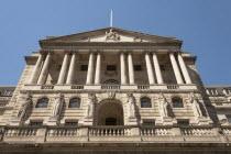 England, London, The Bank of England, Threadneedle Street.