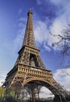 France, Ile de France, Paris, Eiffel Tower.
