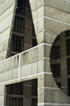 Bangladesh, Dhaka, modern Parliament Building designed by Louis Kahn.