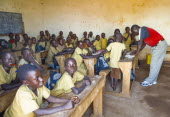 Burundi, Cibitoke Province, Buganda Commune, Ruhagurika Primary Students in their Catch-Up Class. Catch up classes were established by Concern Worldwide across a number of schools in Cibitoke to provi...