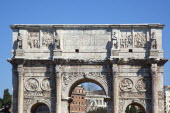 Italy, Lazio, Rome, The Arch of Constantine.
