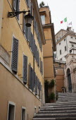Italy, Lazio, Rome, Steps leading to the Palazzo del Quirinale, offical residence of the Italian President.