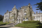 Ireland, County Limerick, Adare, Adare Manor, 19th century manor house, now a luxury hotel and golf course.