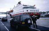 Well, it seemed like a good idea at the time: get ourselves up to the top of Norway and then drive the length of Europe, from north to south, in my ten-year-old Land Rover Discovery. Given that the 'C...