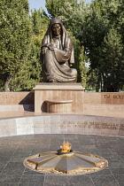 Uzbekistan, Tashkent, World War II Memorial, Independence Square, Mustakillik Maydoni.
