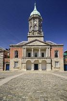 Ireland, Dublin, Dublin Castle ccourtyard, The Bedford Tower.
