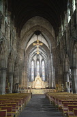 Scotland, Edinburgh, St Mary's Episcopal Cathedral, Cathedral interior.