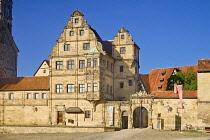 Germany, Bavaria, Bamberg, Alte Hofhaltung or Old Imperial Court.