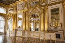 Russia, Saint Petersburg, Decorative interior, Catherine Palace, Tsarskoye Selo, Pushkin.