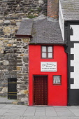 Wales, Conwy, The smallest house in Great Britain.