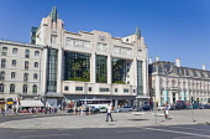 Portugal, Estremadura, Lisbon, Baixa, Eden Teatro art deco former cinema now hotel on Avenue da Liberdade.