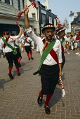 England, East Sussex, Brighton, Festivals, May Day, Morris Dancers.