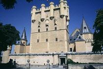 Spain, Castile and Leon, Segovia, Alcazar of Segovia, Segovia Castle, Tower of John II of Castile.