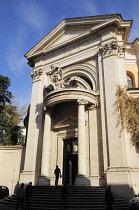 Italy, Lazio, Rome, Quirinal Hill, chucrh of Sant'Andrea al Quirinale.