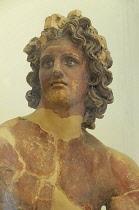 Italy, Lazio, Rome, Villa Borghese, Villa Giulia, bust of Apollo.