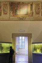 Italy, Lazio, Rome, Villa Borghese, Villa Giulia, jewellery room.