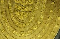 Italy, Lazio, Rome, Villa Borghese, Villa Giulia, fragment of ornamental clothing.