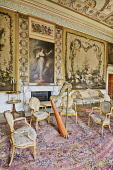 Scotland, Argyll, Inveraray Castle, The Tapestry Drawing Room.