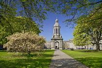 Ireland, County Dublin, Dublin City, Trinity College, The Campanile.