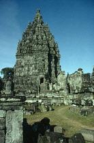 Indonesia, Java, Prambanan, Temple of Shiva.  Late ninth century.